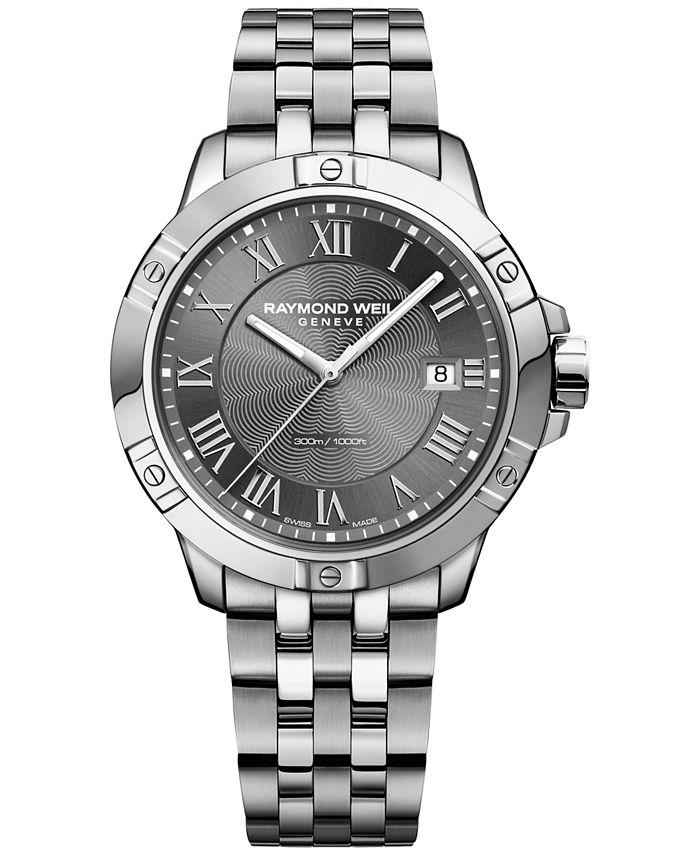 Raymond Weil - Men's Tango Stainless Steel Bracelet Watch 41mm 8160-ST-00608