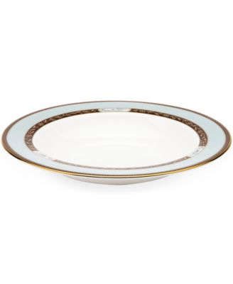 Marchesa by Lenox Dinnerware, Palatial Garden Rim Soup Bowl