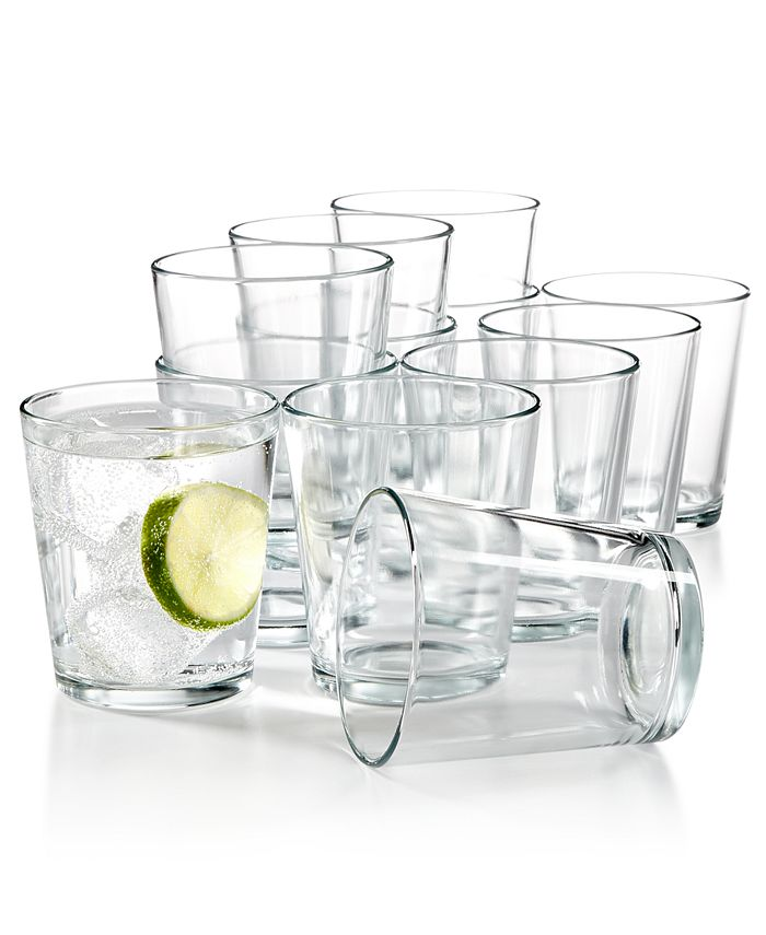 Martha Stewart Collection - Essentials 12-Pc. Small Tumblers Set