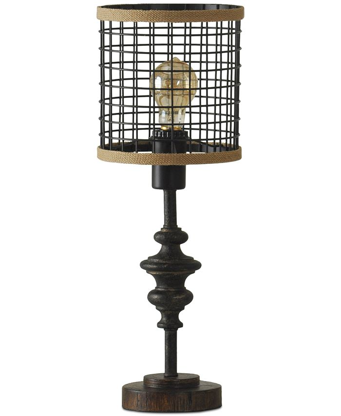 StyleCraft - Cage Metal Table Lamp