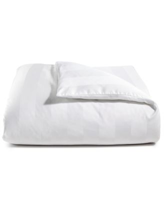 """3"""" Stripe Twin Duvet Cover, 100% Supima Cotton 550 Thread Count, Created for Macy's"""