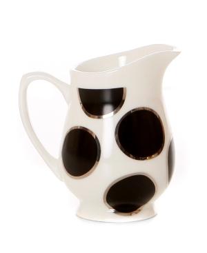 Cru Dinnerware, Black Pearl Creamer