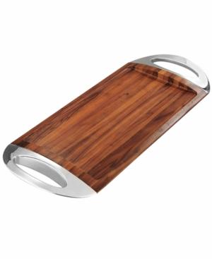 Nambe Serveware, Grande Wood Tray