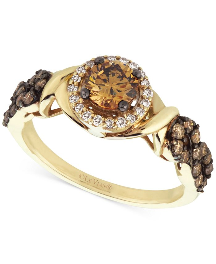 Le Vian - Diamond (9/10 ct. t.w.) Engagement Ring in 14k Gold