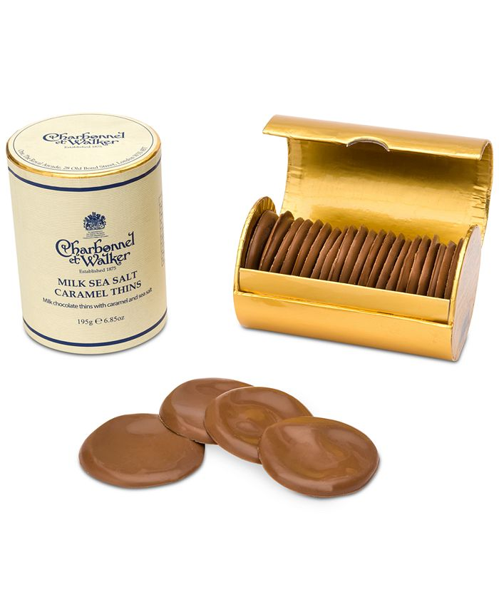 Charbonnel et Walker - Milk Chocolate Sea Salt Caramel Thins
