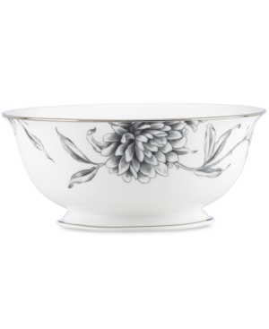 Marchesa by Lenox Dinnerware, Floral Illustrations Serving Bowl