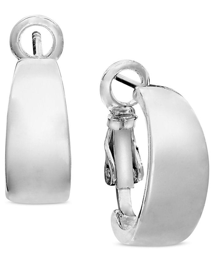 Unwritten - Sterling Silver Earrings, Hoop Earrings