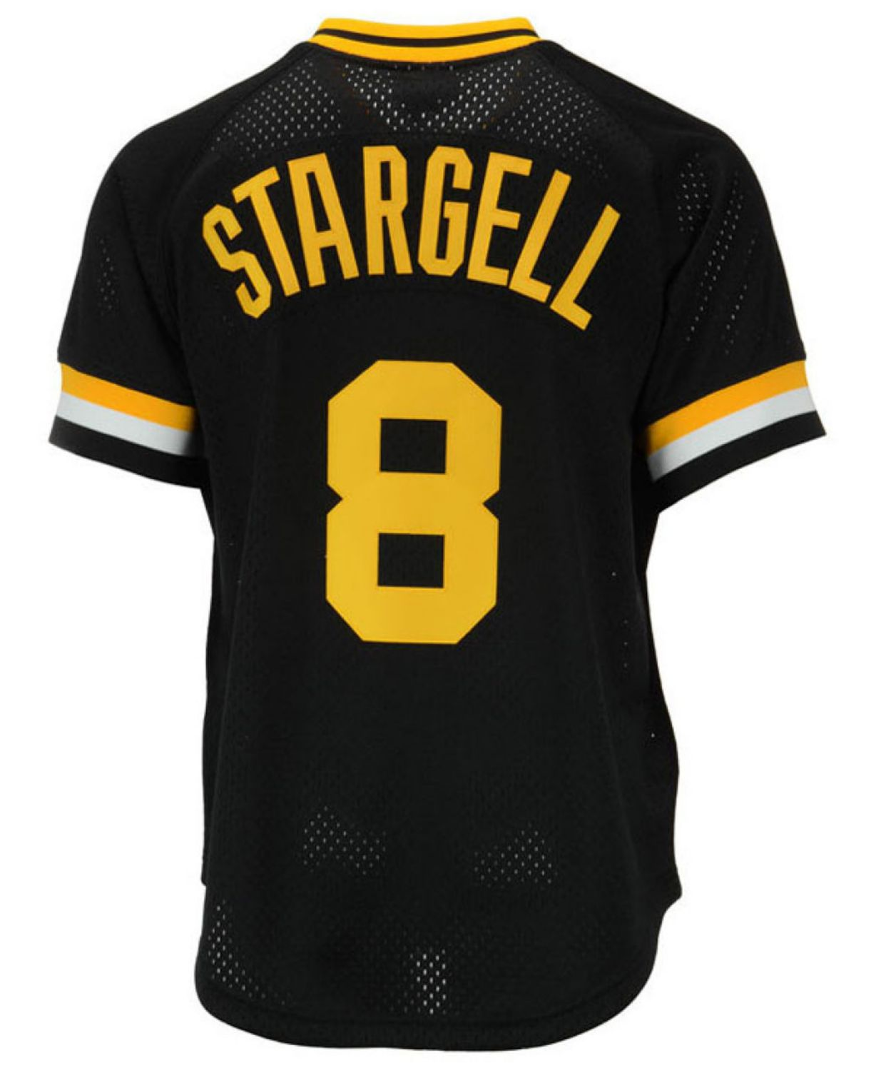 Mitchell & Ness Men's Willie Stargell Pittsburgh Pirates Authentic Mesh Batting Practice V-Neck Jersey  & Reviews - Sports Fan Shop By Lids - Men - Macy's