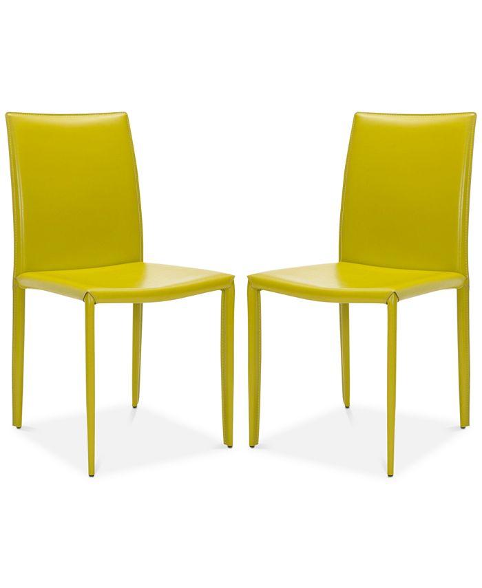 Safavieh - Karna Dining Chair (Set Of 2), Quick Ship