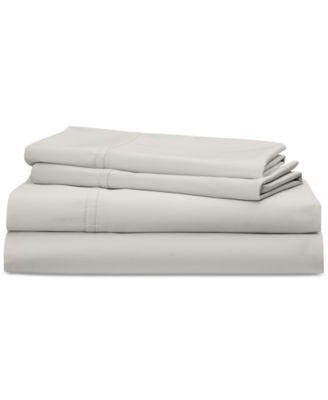 Spencer Cotton Sateen 475 Thread Count 4-Pc. Solid Queen Sheet Set