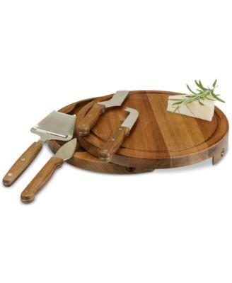 Toscana® by Acacia Circo Cheese Board & Tools Set