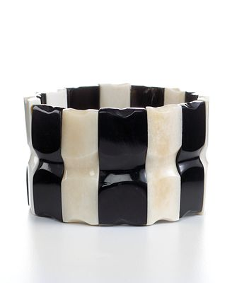Heart of Haiti Jewelry, Horn Stretch Bracelet