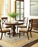 Madison park dining room furniture collection furniture for Top rated dining room tables