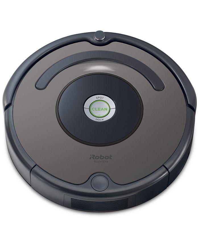Irobot Roomba 635 Robotic Vacuum Reviews Macy S