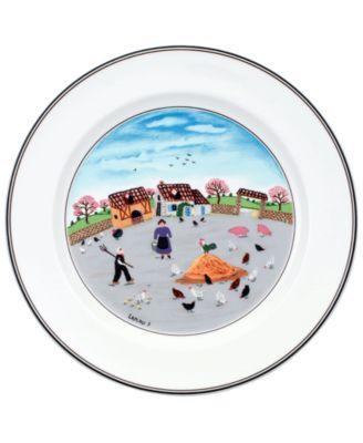Villeroy & Boch Dinnerware, Design Naif Dinner Plate Country Yard