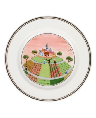 Villeroy & Boch Dinnerware, Design Naif Bread and Butter Plate Farmers Village
