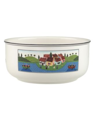 Villeroy & Boch Dinnerware, Design Naif Round Vegetable Bowl Boaters
