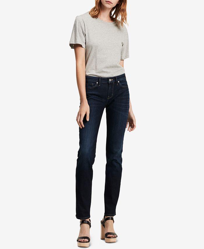 Calvin Klein Jeans - Straight-Leg Low-Rise Jeans