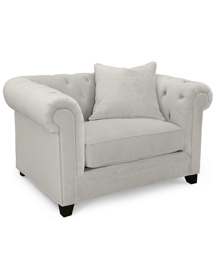 Martha Stewart Collection - Living Room Chair, Saybridge Arm Chair