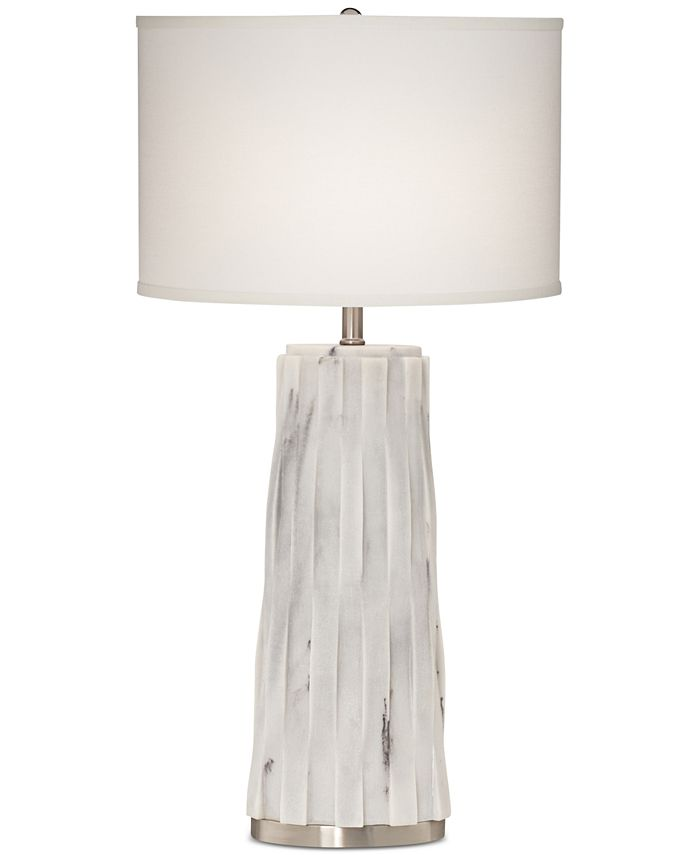 Kathy Ireland - Faux Marble Table Lamp