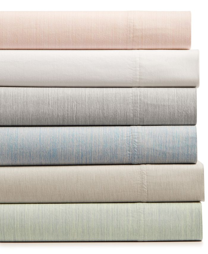 Hotel Collection - Cotton 525-Thread Count 4-Pc. Yarn-Dyed California King Sheet Set