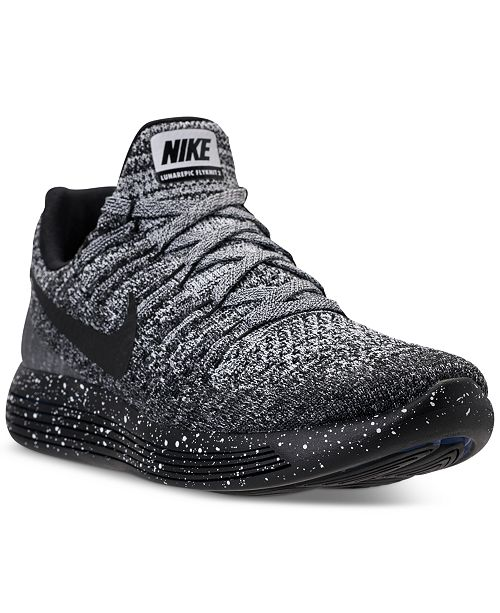 Ciencias Sin alterar como eso  Nike Women's LunarEpic Low Flyknit 2 Running Sneakers from Finish Line &  Reviews - Finish Line Athletic Sneakers - Shoes - Macy's
