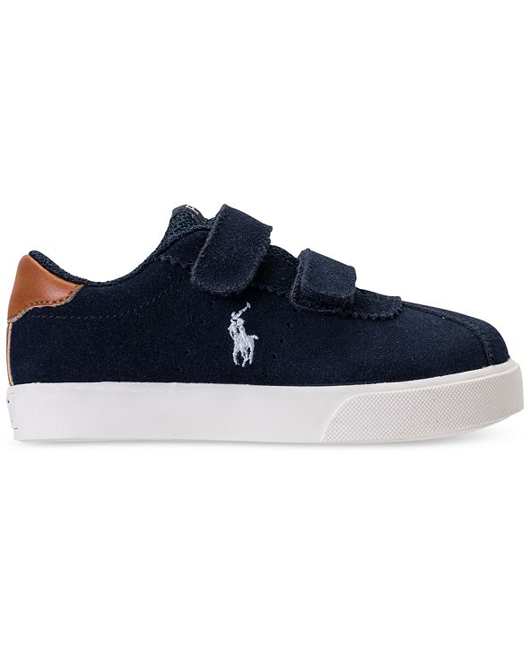 Polo Ralph Lauren Toddler Boys' Hadley Casual Sneakers from Finish Line