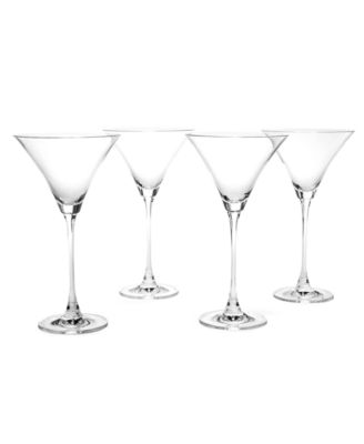 Lenox Stemware, Tuscany Classics Martini Glasses, Set of 4