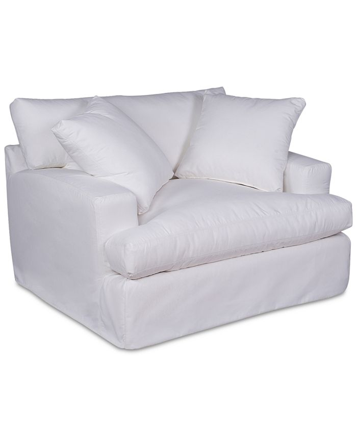 Furniture - Brenalee Chair Performance Fabric Slipcover