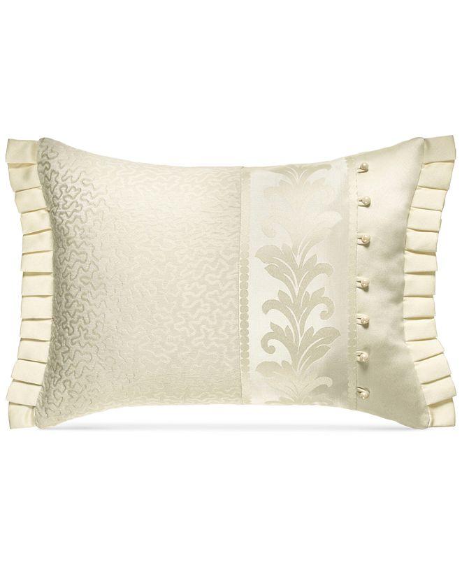 "J Queen New York Marquis 20"" x 15"" Boudoir Decorative Pillow"