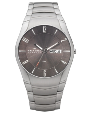 Skagen Watch, Men's Stainless Steel Bracelet 531XLSXM1