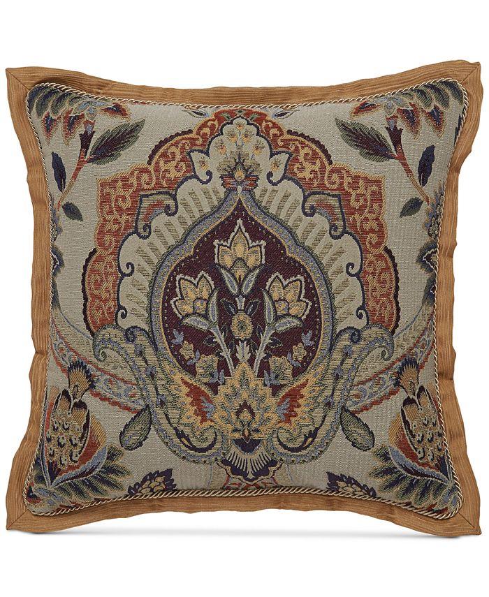 """Croscill - Callisto 18"""" Square Decorative Pillow"""