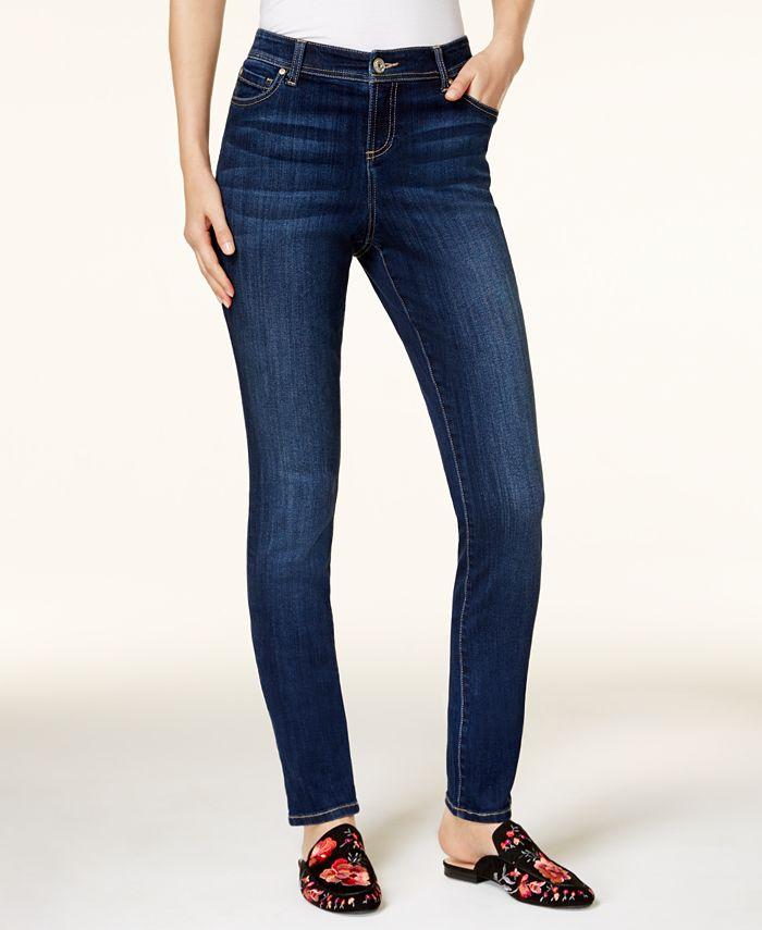 INC International Concepts - INCEssentials Curvy-Fit Skinny Jeans