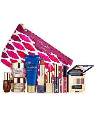 Macys Estee Lauder Christmas 2020 Estée Lauder Choose your FREE 7 Pc. gift with any $35 Estée Lauder