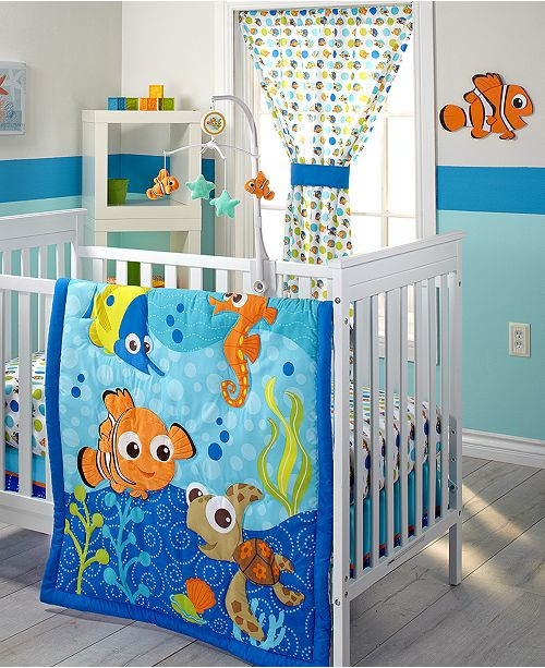 Disney Finding Nemo Baby Bedroom Collection Reviews Bedding Collections Bed Bath Macy S