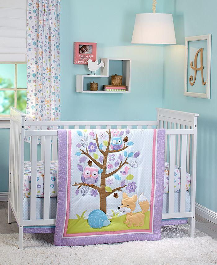 NoJo - Adorable Orchard 3-Pc. Crib Bedding Set