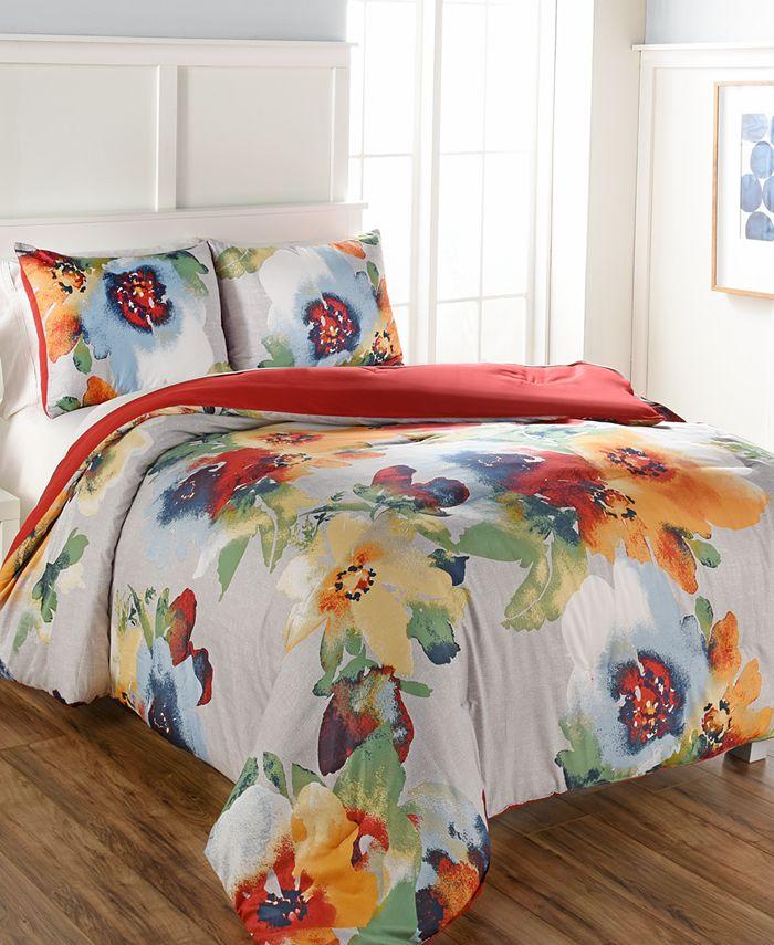 Hallmart Collectibles - Kerra 3-Pc. Queen Comforter Set