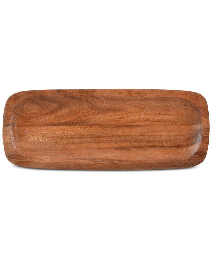 """Noritake - """"Konawood"""" Rectangular Platter, 15"""""""