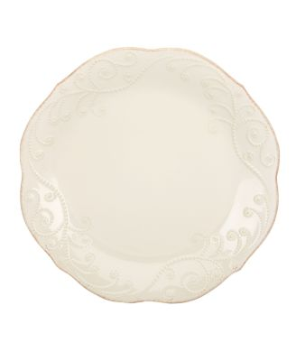 Lenox Dinnerware, French Perle White Dinner Plate