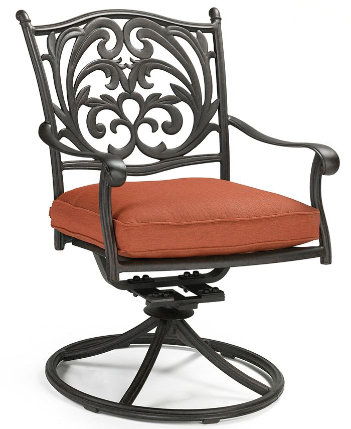 Furniture - Chateau Aluminum Outdoor Swivel Chair