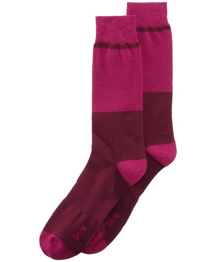 Bar III - Men's Colorblocked Socks