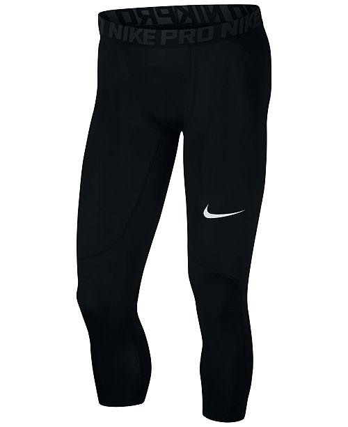 Nike Men's Dri-FIT Pro Compression Tights & Reviews - All ...