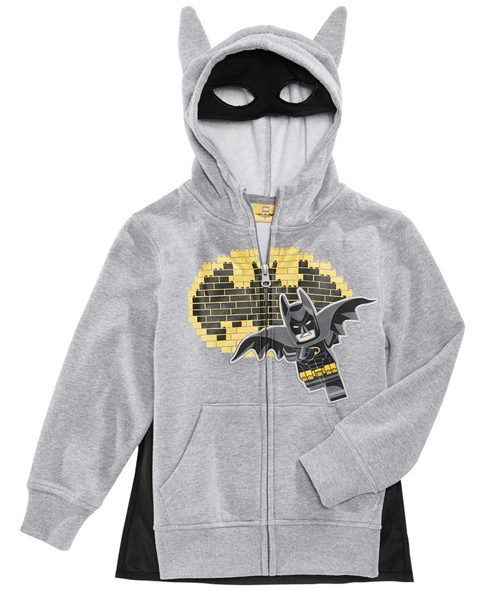 DC Comics - Lego Batman Hoodie, Toddler & Little Boys (2T-7)