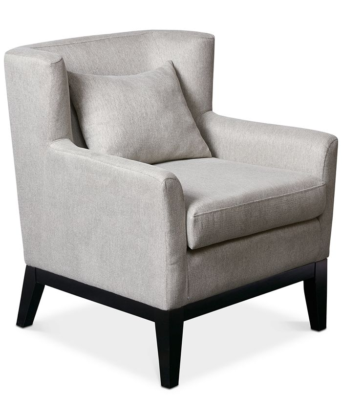 JLA Home - Peabody Accent Chair, Quick Ship