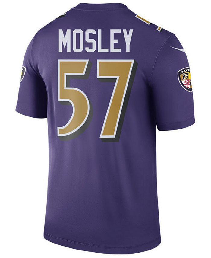 Nike Men's C.J. Mosley Baltimore Ravens Legend Color Rush Jersey ...