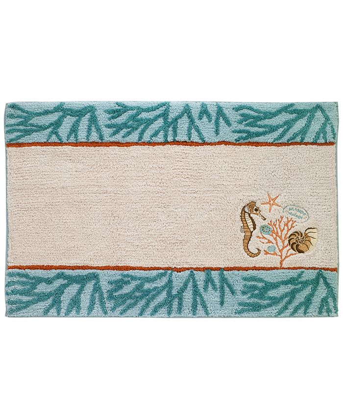 Avanti - Multi Seaside Vintage Cotton Bath Rug
