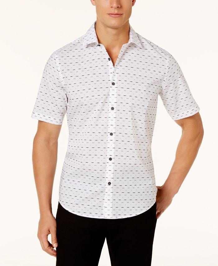 Alfani - Men's Printed Shirt,