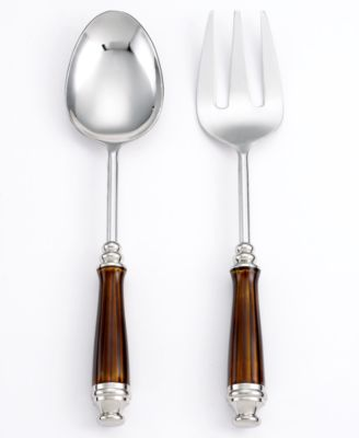 CLOSEOUT! Simply Designz Serveware, Set of 2 Enamel Servers