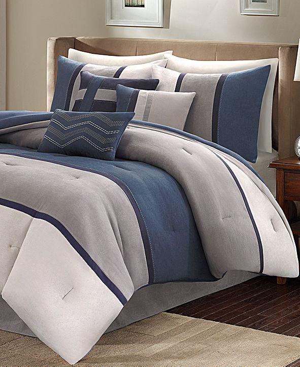 Madison Park Palisades 7-Pc. King Comforter Set