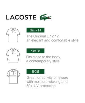Classic Fit Pique Polo Shirt, L.12.12